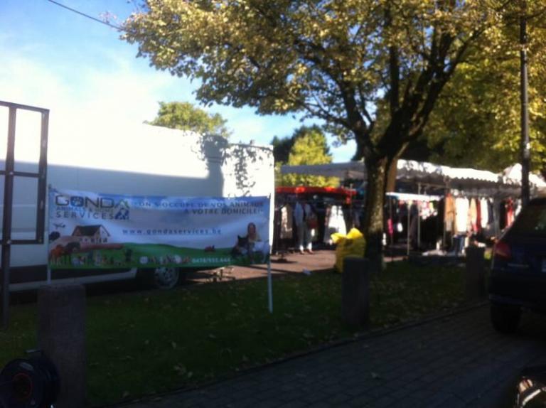 Sur le marché local de St-Georges-sur-Meuse